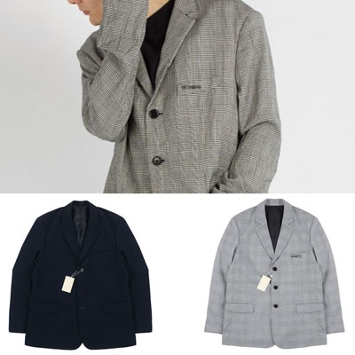 OVERSIZE SINGLE BLAZER JACKET(2color)
