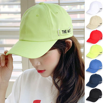 [UNISEX] THE MOST STRAP POINT BALL CAP (7color)