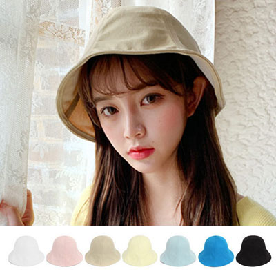 [UNISEX] SIMPLE DAILY BUCKET HAT (7color)