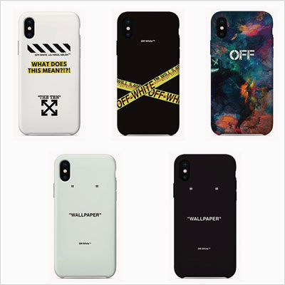 LOGO POINT STREET FEELING PHONE CASE (5type)