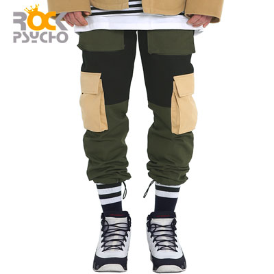 【ROCK PSYCHO】MULTI CARGO PANTS (2size)