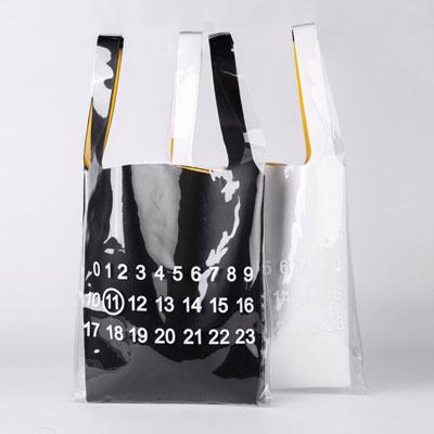 [UNISEX] NUMBERING PRINT PLASTIC BAG (2color)