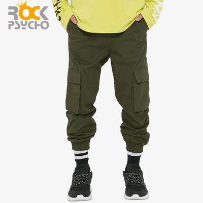 【ROCK PSYCHO】CARGO JOGGER PANTS-Khaki