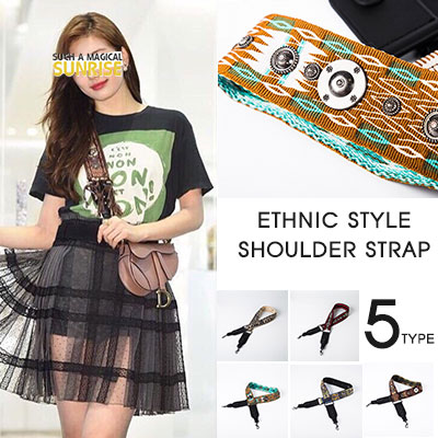 miss A_suzyst.ETHNIC STYLE SHOULDER STRAP(5color)