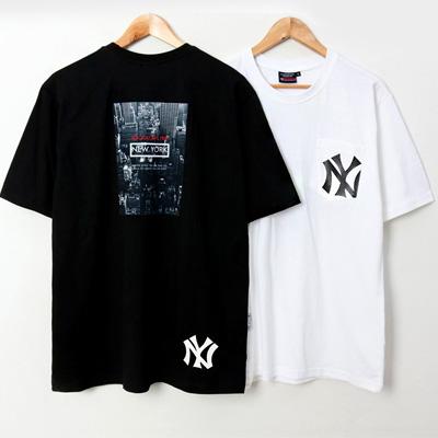 [UNISEX]NEW YORK CITY SHORT SLEEVE SHIRTS(2color/4size)