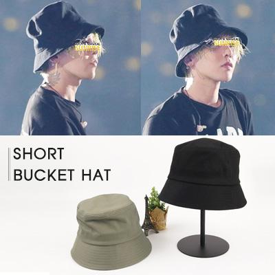 BIGBANG GD st.COTTON SHORT BUCKET HAT(4color)