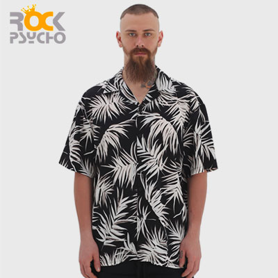【ROCK PSYCHO】[A-type]MEN'S SUMMER SHIRTS(2size)