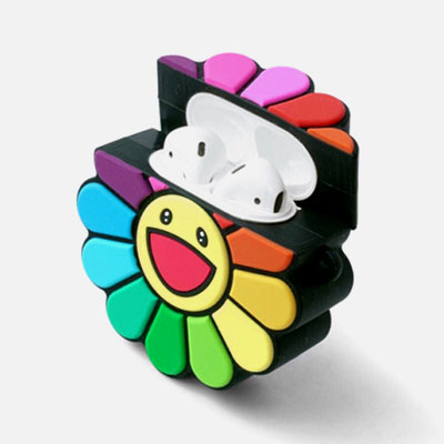 RAINBOW SUNFLOWER AIRPOD CASE