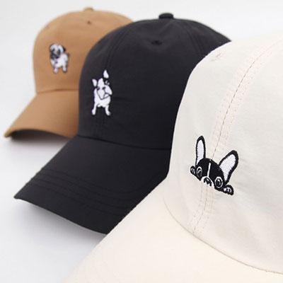 [UNISEX]CUTE DOGGI BALL CAP(3color)