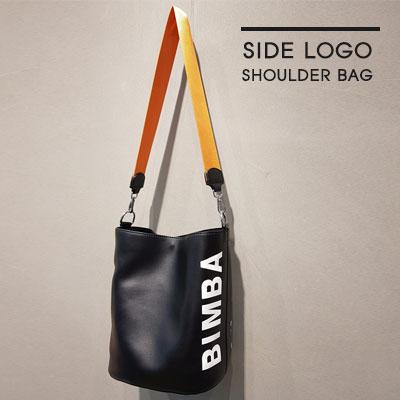 [UNISEX]SIDE LOGO SHOULDER BAG(4color)