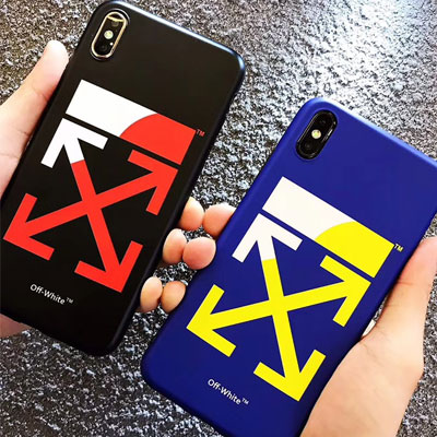 COLOR WAVE&ARROW iPhone CASE(2color)