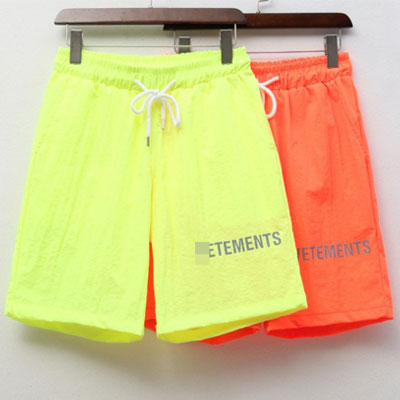[UNISEX]NEON COLOR SIDE LOGO SHORT PANTS(2color/3size)