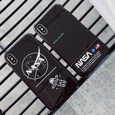 HELLO SPACEMAN NASA iPhone case