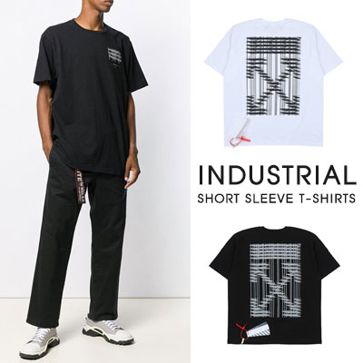 [UNISEX]INDUSTRIAL SHORT SLEEVE T-SHIRTS(2color)