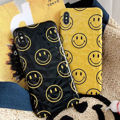 HAPPY SMILE PHONE CASE / iPhone CASE