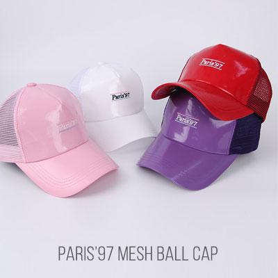 [UNISEX]PARIS'97 MESH BALL CAP(4color)