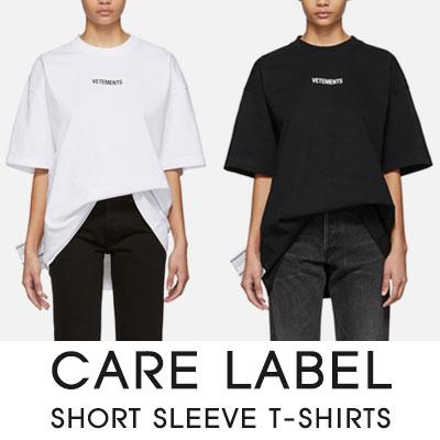 [UNISEX]CARE LABEL SHORT SLEEVE T-SHIRTS(4color)