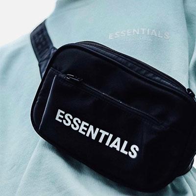 [UNISEX]ESSENTIALS LOGO BODY& WAIST BAG