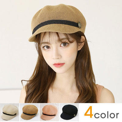 [UNISEX]COTTON MESH MATROOS CAP / HUNTING CAP(4color)