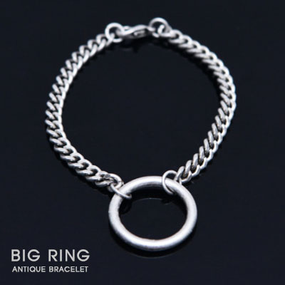 [UNISEX]BIG RING ANTIQUE BRACELET