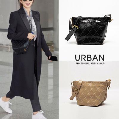 [UNISEX]URBAN EMOTIONAL STITCH BAG / CROSS BAG /SHOUKLDER BAG(2color)