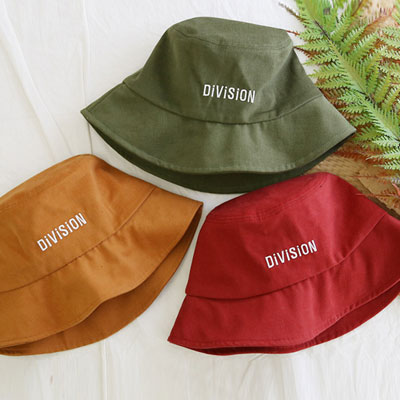[UNISEX]DIVISION LOGO BUCKET HAT(5color)