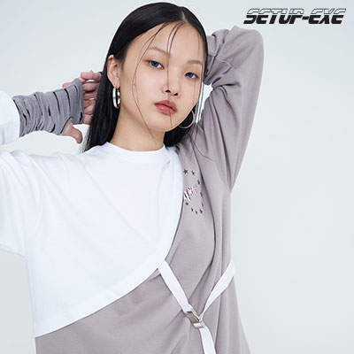 【SETUP-EXE】Shootingstar T-shirt - white