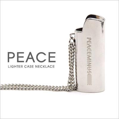 GD st.PEACE LIGHTER CASE NECKLACE