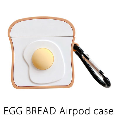 EGG BREAD AIRPODS CASE