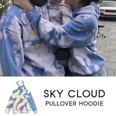 [UNISEX]SKY CLOUD PULLOVER HOODIE