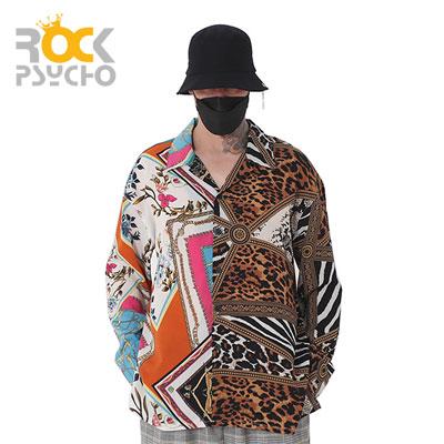 【ROCK PSYCHO】HALF PATTERN FLEX SHIRTS