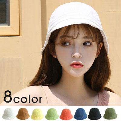 [UNISEX]SIMPLE LINEN BUCKET HAT(8color)