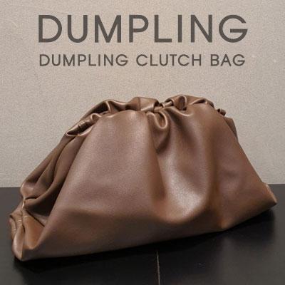 DUMPLING CLUTCH BAG(3color)