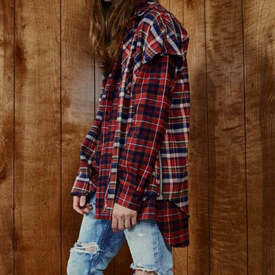 [UNISEX]FLANNEL LONG SLEEVE SHIRTS (2color)