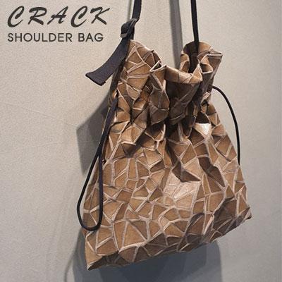 [UNISEX]CRACK SHOULDER BAG(2color)