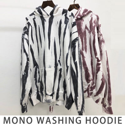 [UNISEX] MONO WASHING HOODIE (2color)