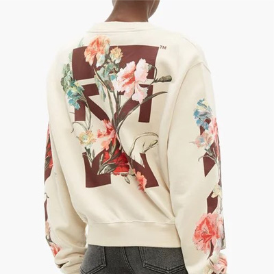 [UNISEX] MULTI FLORAL PRINT SWEATSHIRTS (2color)