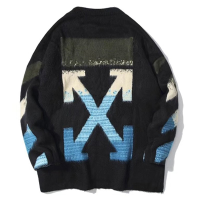 [UNISEX] BLUE ARROW CASHMERE KNIT