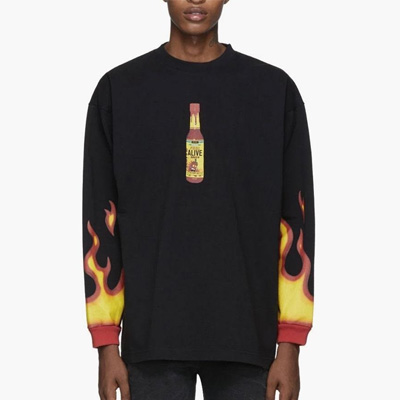[UNISEX] FIRE HOT SAUCE SWEATSHIRTS (2color)
