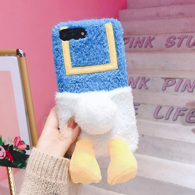 BACK SIDE DUCK iPhone CASE