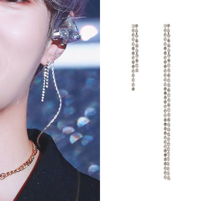 [1ea][UNISEX] WANNA ONE/HA Sunwoon st. DOUBLE DROP PIERCE (3color 2type)