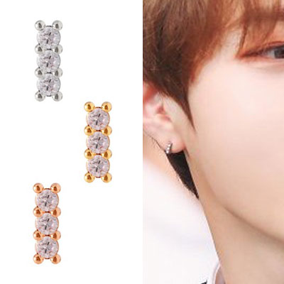 [UNISEX] WANNA ONE/HA Sunwoon/ワナワン/ハソンウン st. CUBIC MINIMAL PIERCE (2type 3color)