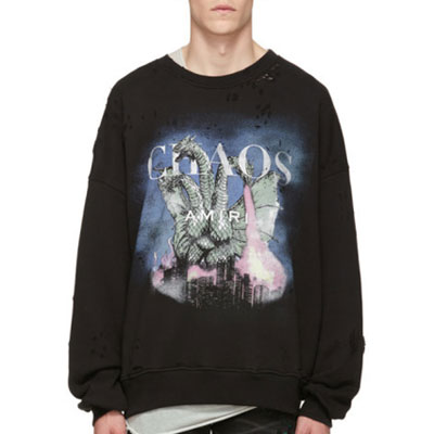 [UNISEX] CHAOS CITY DRAGON DAMAGE SWEATSHIRTS