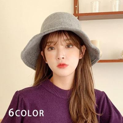[UNISEX] WOOL FLOPPY HAT (6color)