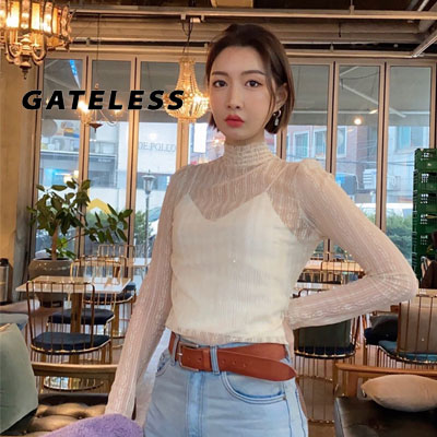 【GATELESS】LACE BLOUSE (2color)