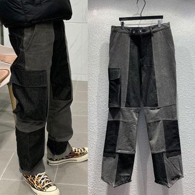 [UNISEX] REWORK PATCH DENIM PANTS (2size)