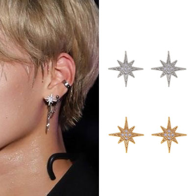 [UNISEX] ATEEZ st. TWINKLE STAR PIERCE (2color)