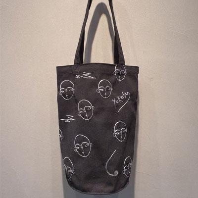 [UNISEX] FACE SHOPPER BAG (2color)