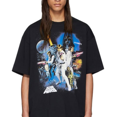 [UNISEX] FORCE BE WITH YOU POSTER PRINT TSHIRT