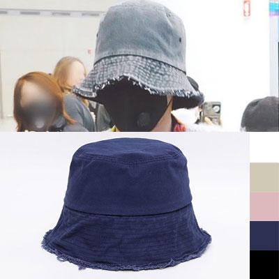 [UNISEX] BIGBANG/GD/G-dragon st. DAMAGE WIRE BUCKET HAT (5color)